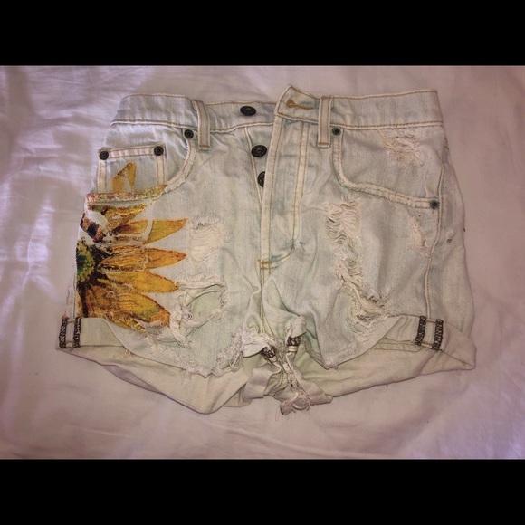 Carmar Pants - Carmar denim shorts.